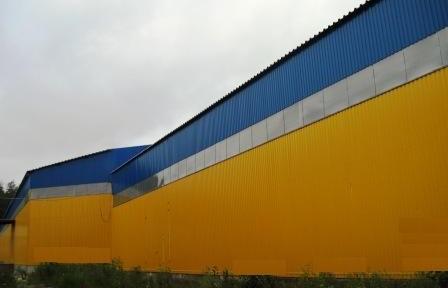 Виды ангаров: шатровые и арочные склады